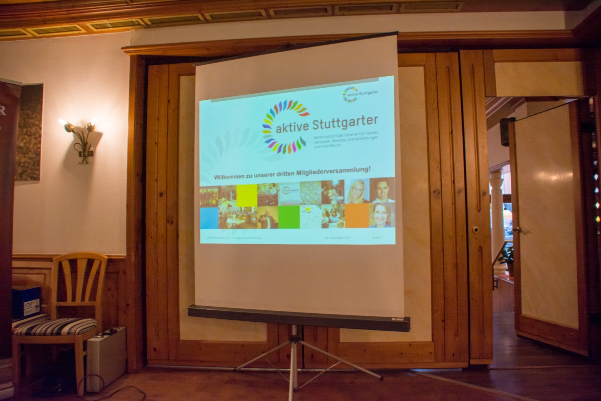 Mitgliederversammlung aktive Stuttgarter 2017