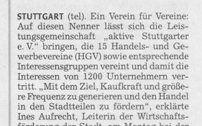 aktive Stuttgarter e.V. stärkt den Handel in den Stadtteilen