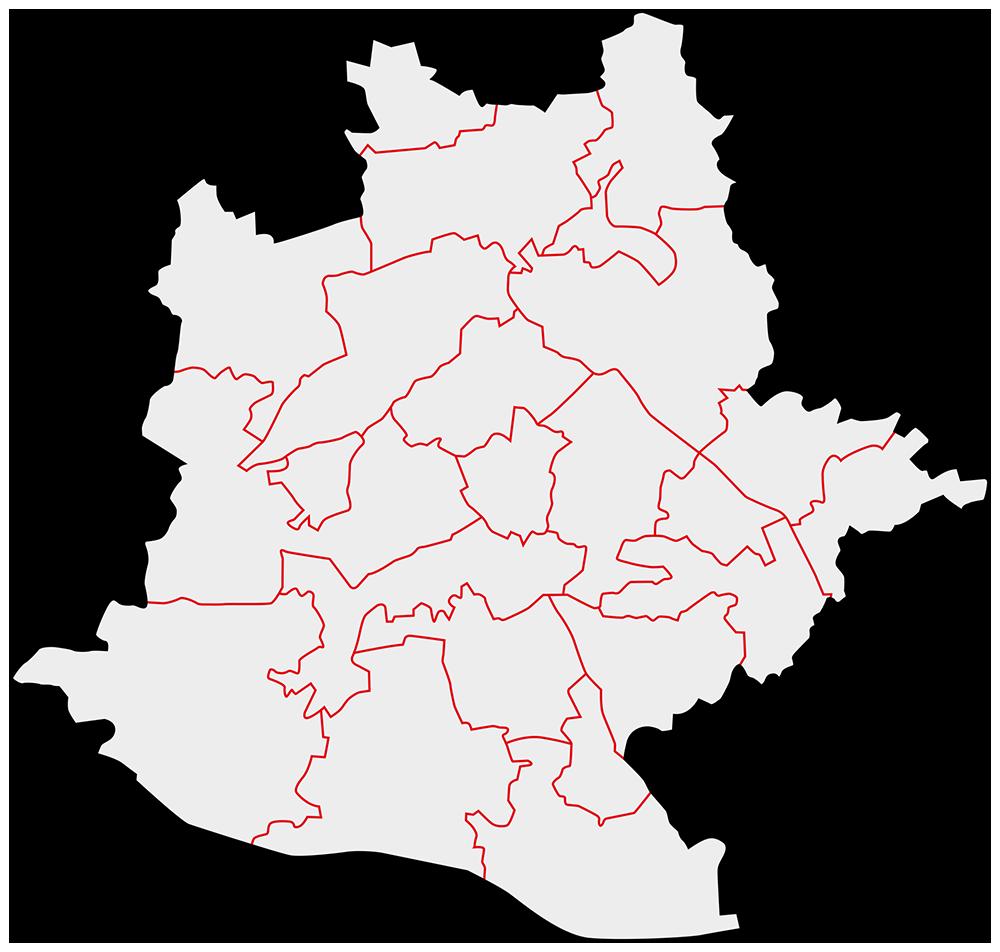 Die Stuttgarter Stadtbezirke