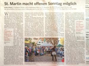 Stuttgarter Zeitung vom 11.11.2016