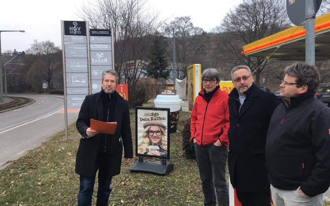 Hinweisbeschilderung HGV-Münster – Aufbesserung der Vereinskasse um 8.000€/Jahr