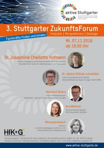 3. Stuttgarter ZukunftsForum @ Hochschule für Kommunikation und Gestaltung Stuttgart | Stuttgart | Baden-Württemberg | Deutschland